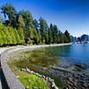Walk/bike trail Stanley Park