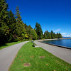 Bike trail Stanley Park