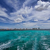 The view of Palm Beach from the water