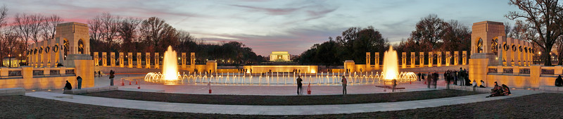 World War II Memorial Panorama