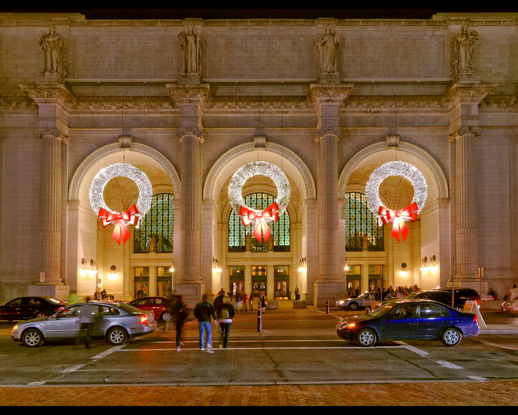Union Station at Xmas