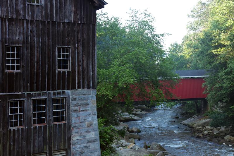 McConnel's Mill Covered Bridge