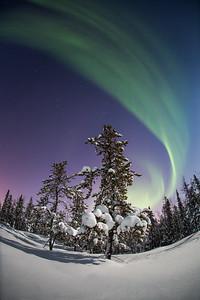 Aurora Nights XXVI, Nights of Wonder workshop 2015, Giant Mine, Yellowknife area, Northwest Territories.
