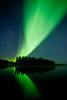 """The Great Dance of the Aurora"", Yellowknife area, Northwest Territories."