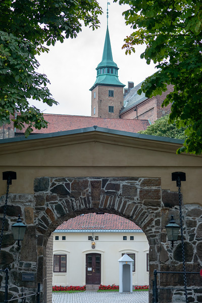 Akershus Fortress (Akershus Festning), Oslo, Norway, Scandinavia.<br /> Originally construct in the 13th century, this fort contains 2 military museums & hosts events.