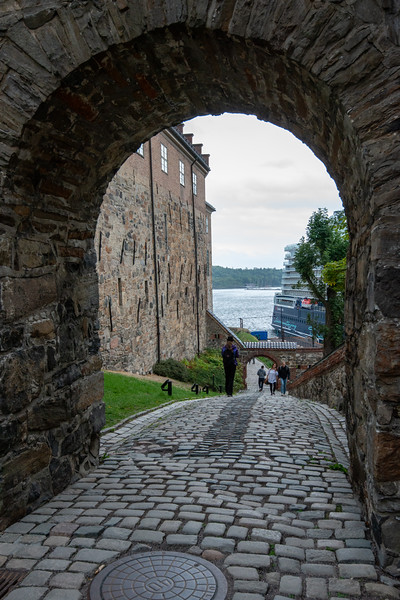 Akershus Fortress (Akershus Festning), Oslo, Norway, Scandinavia. Originally construct in the 13th century, this fort contains 2 military museums & hosts events.
