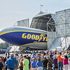 Goodyear blimp, Wingfoot One, christening, maiden voyage