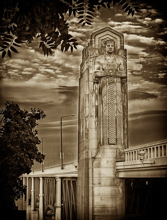 The Lorain-Carnegie Bridge, Cleveland, Ohio