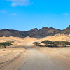 Oman - Desert road north of Duqm