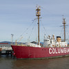 "Lightship ""Columbia"" in Astoria, Oregon."