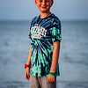 Summer beach trip to the Outer Banks. His first trip to the beach! June 2018. Digital.