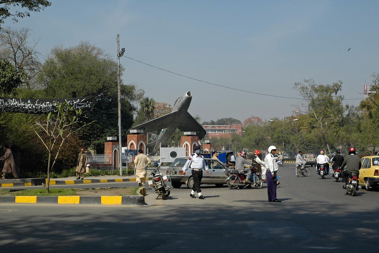 Streets of Lahore, Pakistan.