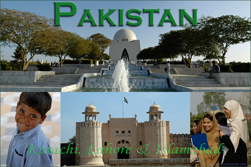 Visited Karachi, Lahore & Islamabad, Pakistan in March 2005. The Islamic Republic of Pakistan (Urdu: پاکستان Pākistān  pronunciation), is located to the North West of India and is part of South Asia. With a 1,000 kilometre coastline, flat land and mountains it has mix of climate and terrain.<br /> <br /> The region forming modern Pakistan was home to the ancient Indus Valley Civilisation and then, successively, recipient of ancient Vedic, Persian, Turco-Mongol, Indo-Greek and Islamic cultures. The area has witnessed invasions and/or settlement by the Aryans, Persians, Greeks, Arabs, Turks, Afghans, Mongols and the British. It was a part of India as a large mass and even during the British Raj from 1858 to 1947 up until the independence movement which resulted in the formation of India and Pakistan free from the British rule. The state of Pakistan, comprised the provinces of Sindh, North-West Frontier Province, West Punjab, Balochistan and East Bengal. Culturally, language-wise, physically and the appearance of the people are very much the same on either side of the Indo-Pak border. In fact, its hard to tell the difference. Politically there is a huge gulf in between.