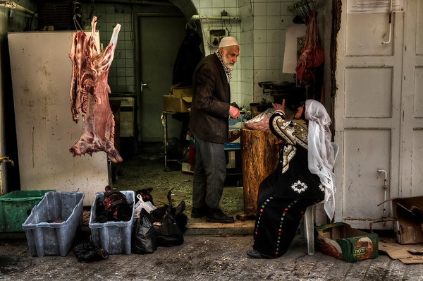 Butchers, Hebron, Palestine, 2012.