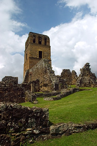 Ruins of Panama Vieja.  The city was founded on August 15, 1519, by the notorious conquistador Pedro Arias de Ávila, better known as Pedrarias, and burned down during a battle with the equally notorious Welsh pirate Henry Morgan in 1671. After that disaster, the Spanish moved Panama City to a more defensible site a few kilometers southwest, in the area now known as Casco Viejo.