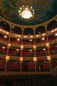 Teatro Nacional de Panama.  The new Republic of Panama was to have a National Theatre by Law 52 in 1904. The Italian architect Genaro Ruggieri was commissioned to design the National Theater and the adjoining Palace of the Government.   The date of the inauguration was on October 1, 1908 with the inauguration of Don Jose Domingo de Obaldia as the President of the Republic.