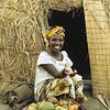Market woman in Mali