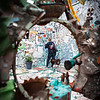 Exploring the Museum of the Magic Gardens. Philadelphia, PA. Apr 2016. Digital.