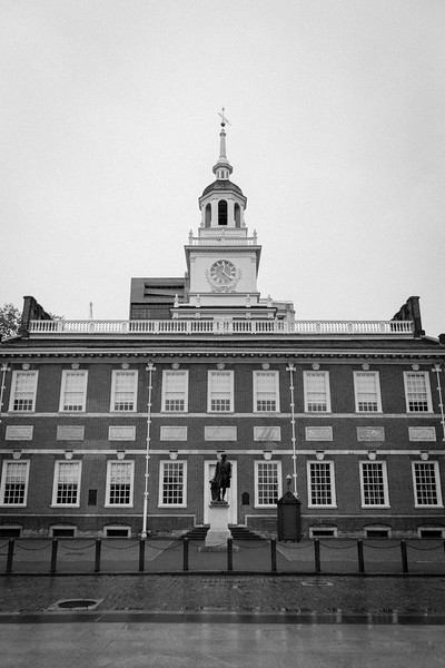 Independence Hall in downtown. Philadelphia, PA. Apr 2016. Digital.