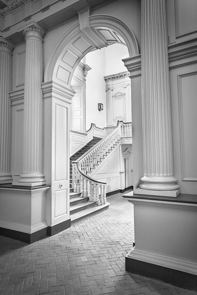 Staircase in Independence Hall