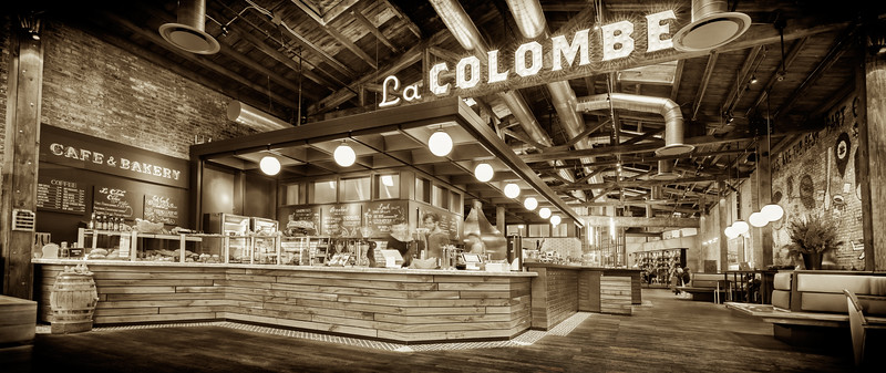 La Colombe, Dark Sepia