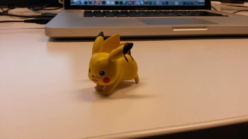 Pikachu at work