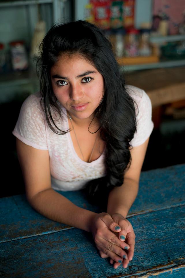 Young Guatemalan lady.