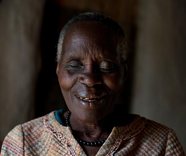 Ugandan old lady.