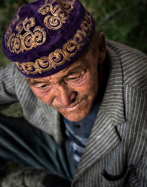 Kazakh man.