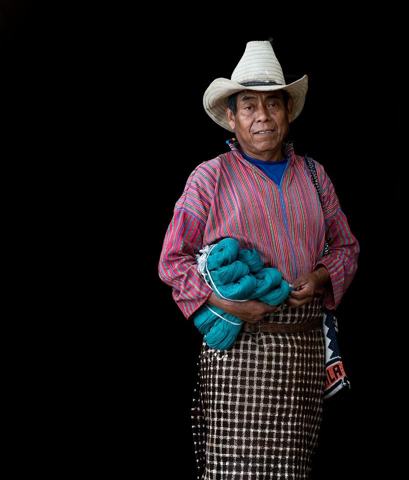 Mayan man, Guatemala.