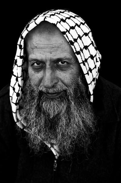 Palestinian, muslim man.