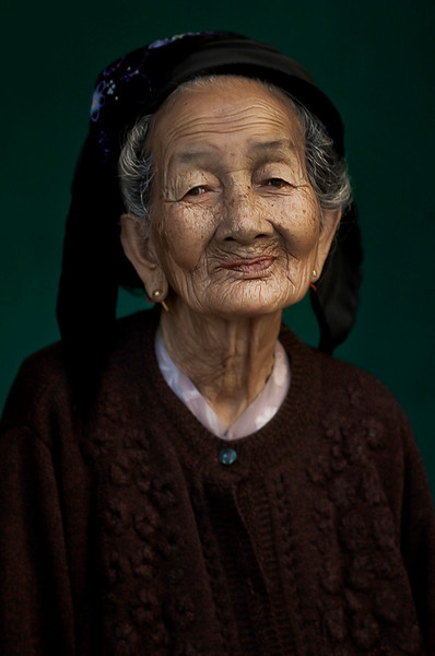 Old Vietnamese woman.