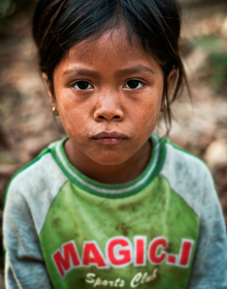 Village girl Thailand.