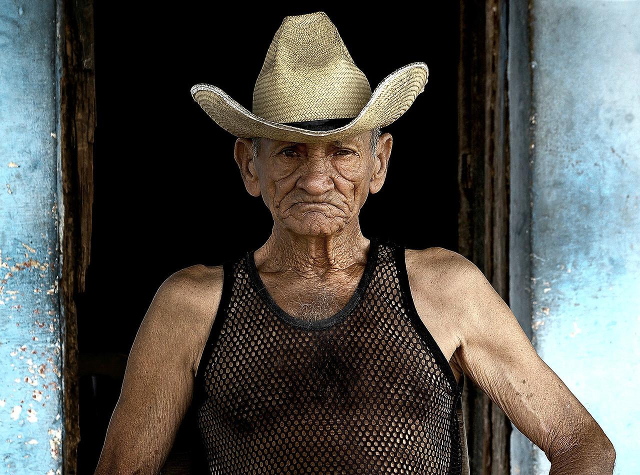 Cuban villager.