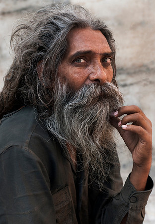 Indian, hindu man.