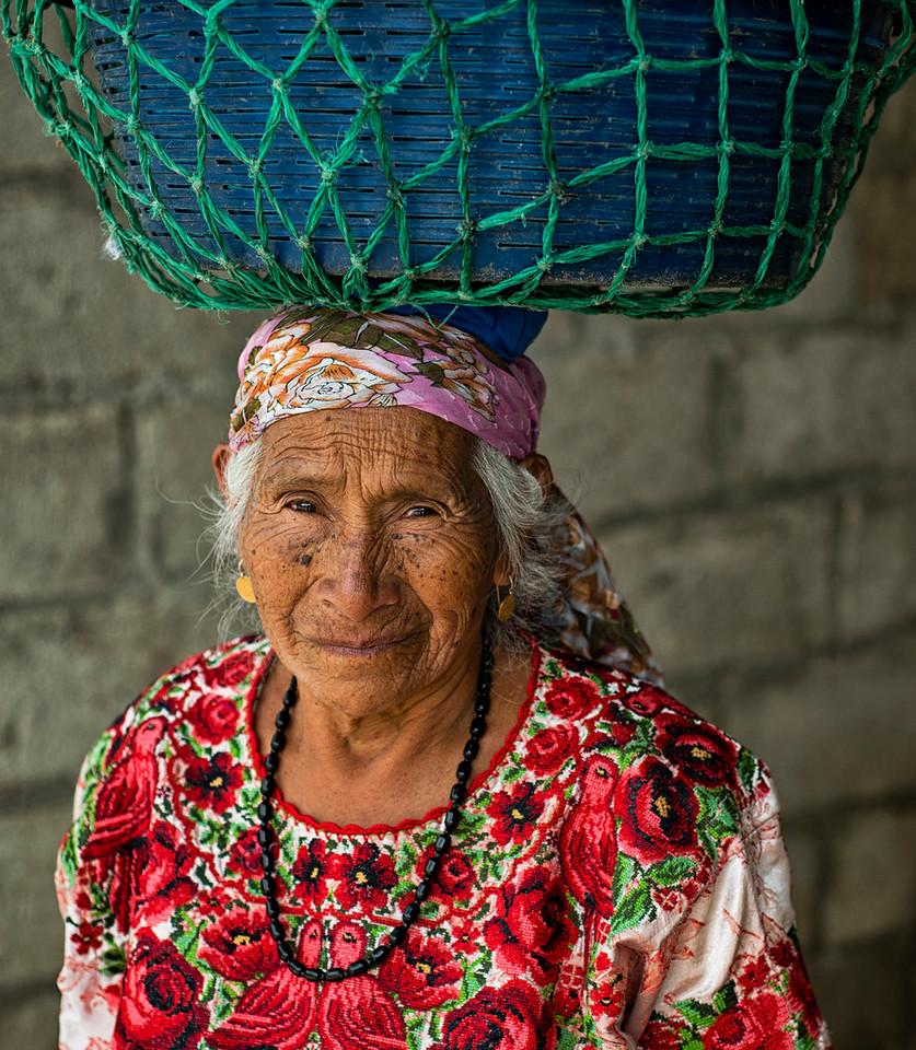 Old lady, Guatemala.