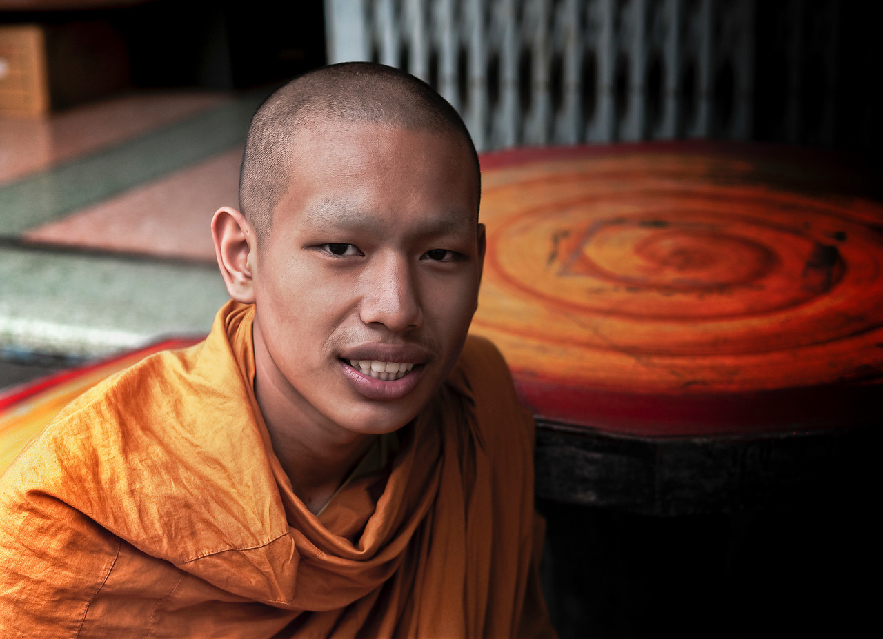 Thai Buddhist monk.