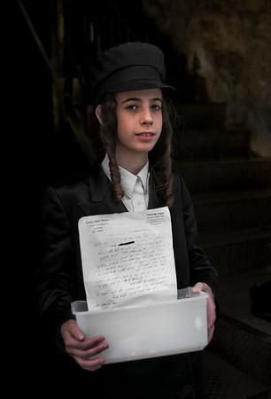 Hasidim boy.
