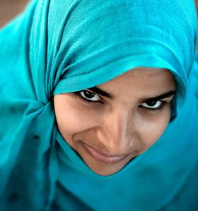 Egyptian girl.
