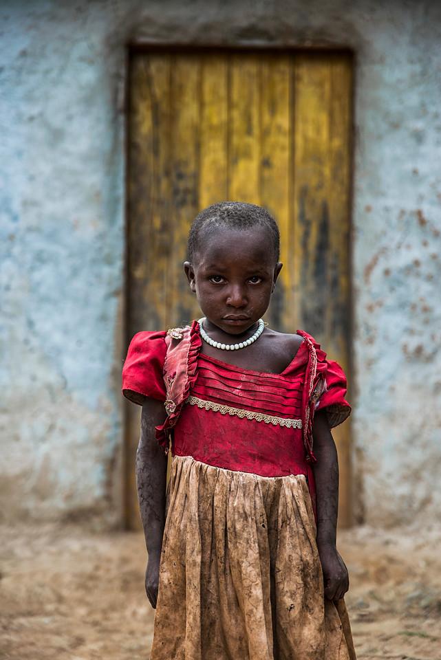 Ugandan little girl.