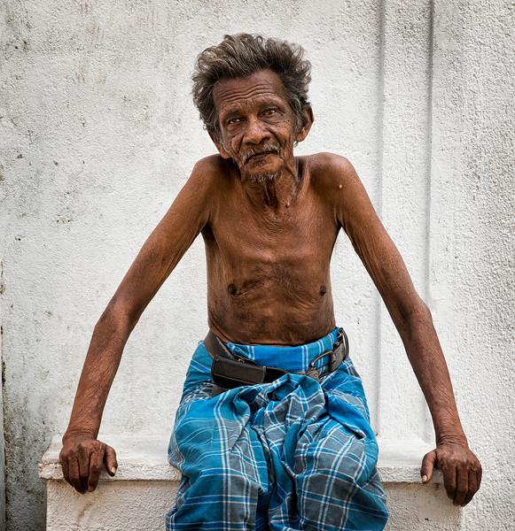 Sri Lankan man.