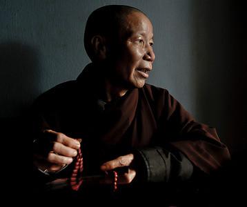 Thai Buddhist monk.