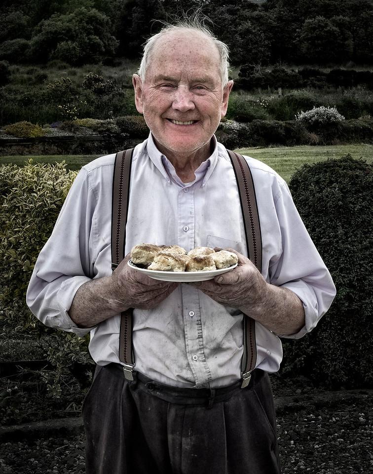 Irish farmer.