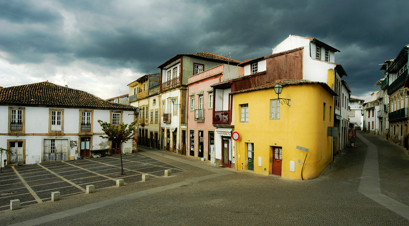 Small village near the town of Evora, Portugal.