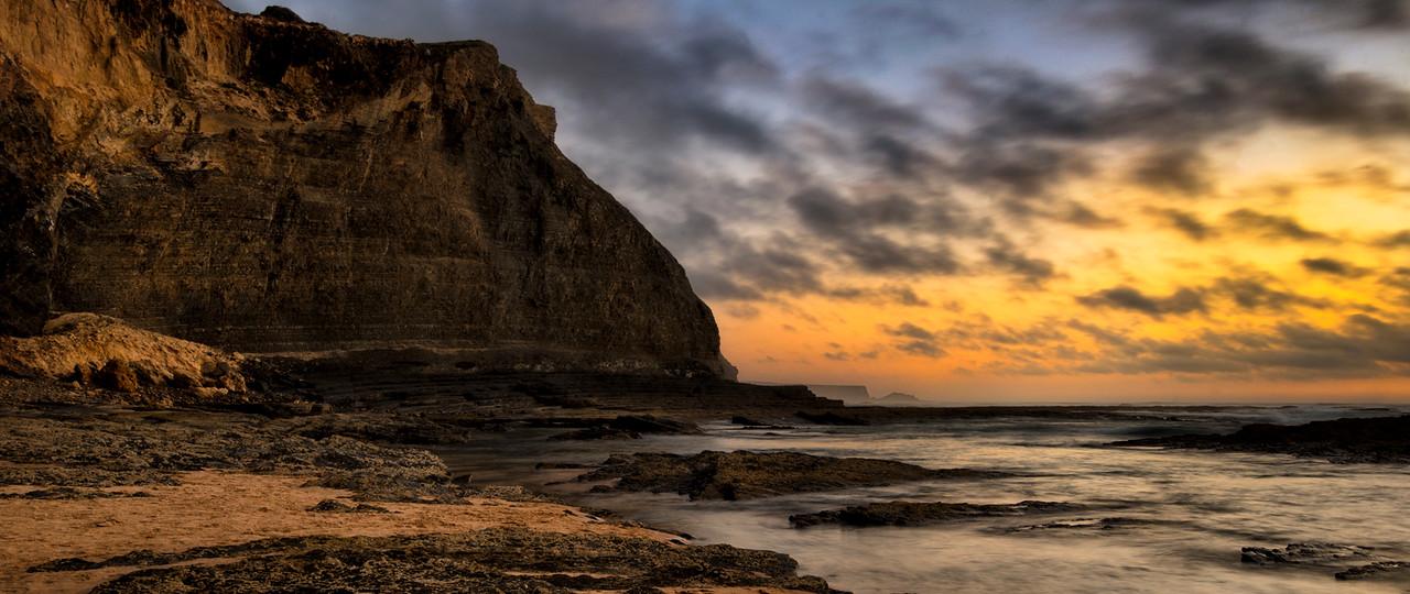 Monte Clerigo beach, Costa Vicentina, Portugal, 2014.