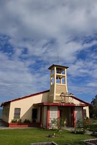 Catholic church in Punta Gorda Town, Toledo.