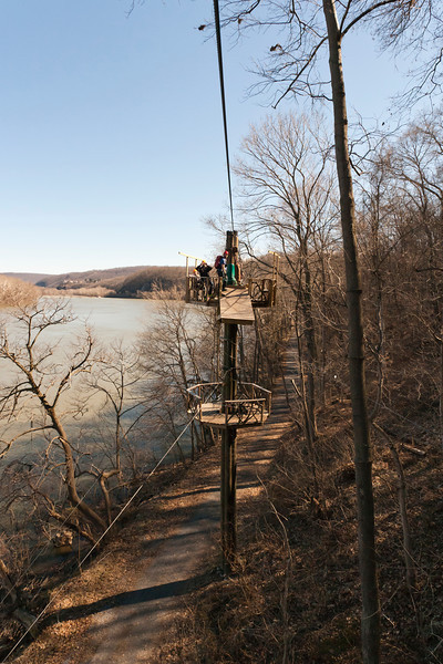 Another view of what it looks like up there. River Riders, Harper's Ferry, West Virginia, digital, 17-40mm lens, Mar 2014.