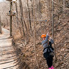 Zip line! River Riders, Harper's Ferry, West Virginia, digital, 17-40mm lens, Mar 2014.