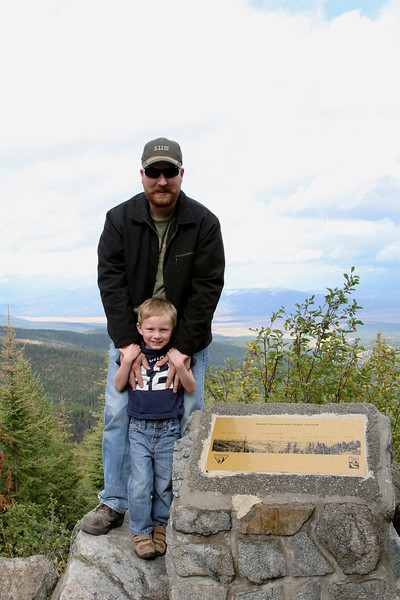 Tim, Kyle and I went to a ghost town outside Missoula called Garnet. This was a lookout on the road there.
