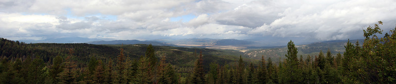 Panorama from the lookout.